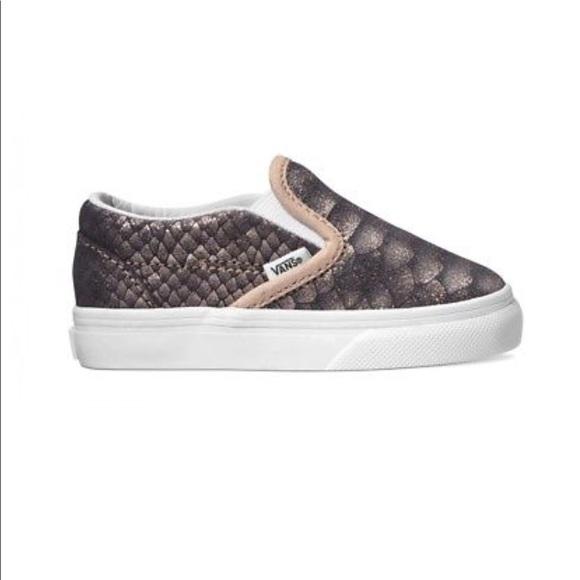 dd254e0e37 Vans metallic snakeskin shoes. M 5b2fab985c4452d6ba7e4579